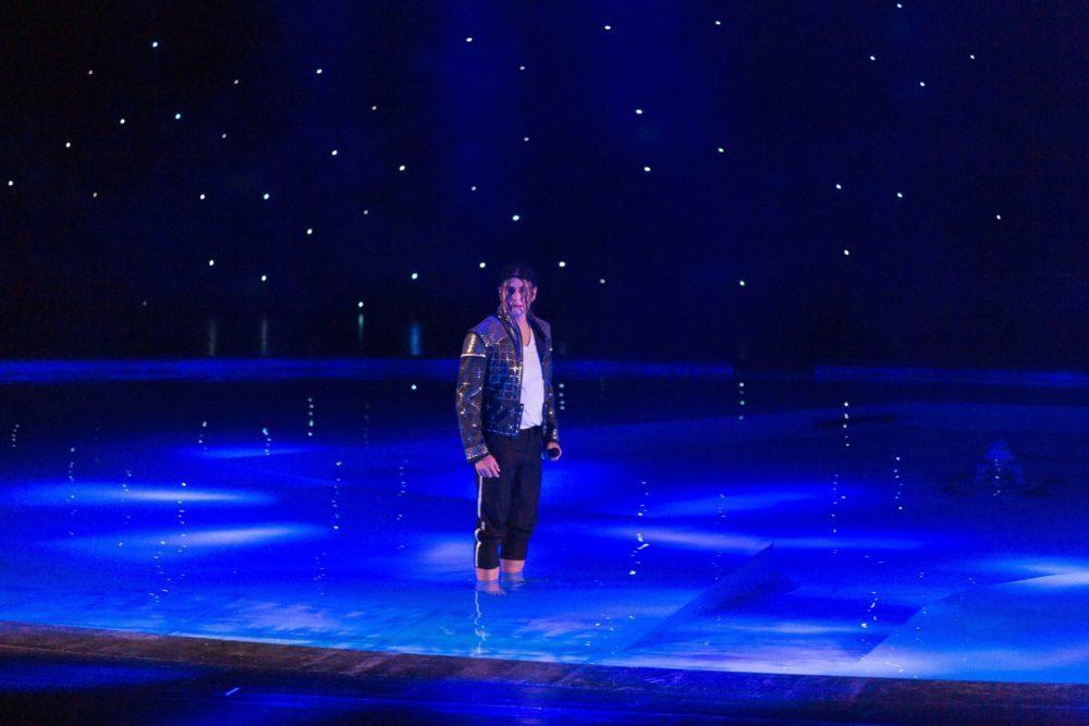 Sascha Pazder als Michael Jackson-Tribute Artist