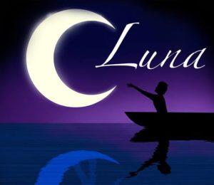 Das Logo von dem Musical LUNA