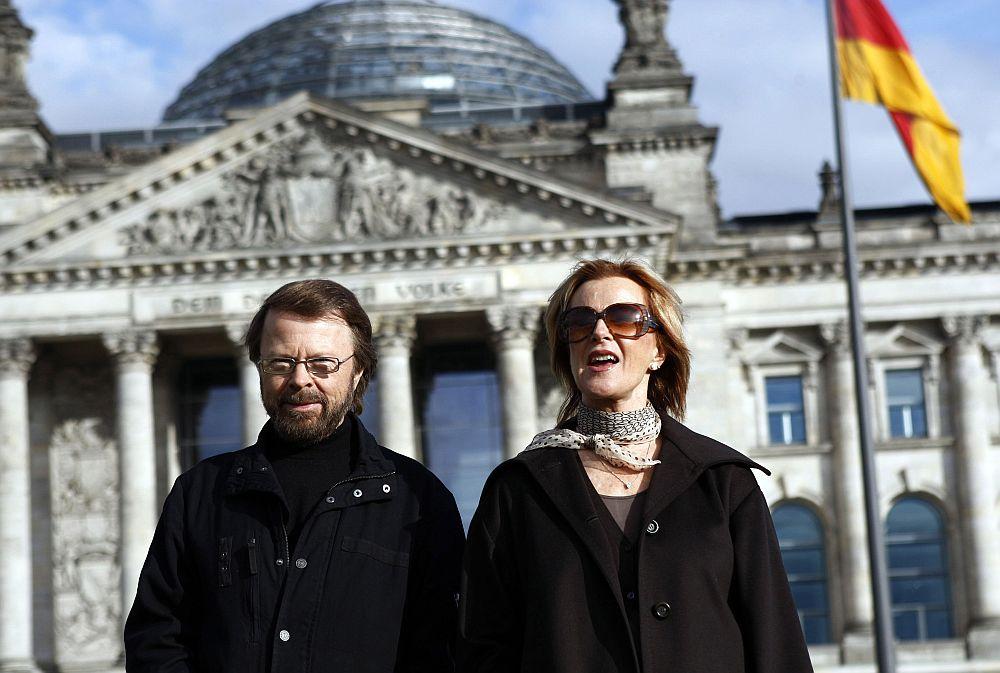 Björn und Anni-Fried Reuss in Berlin