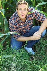 Marc Früh im Gras