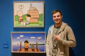 Marius sieht Otto und Charlie Brown