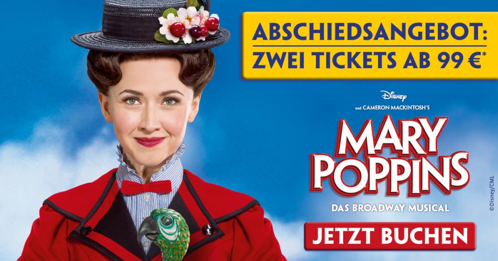 Mary Poppins Ticketaktion