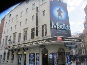Ansicht Theater Matilda