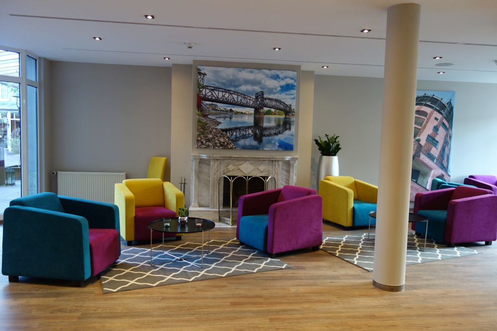 Mercure Hotel Magdeburg Lobby