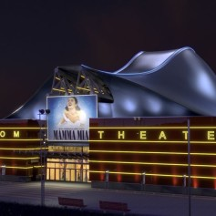 Stage Metronom Theater neues Dach