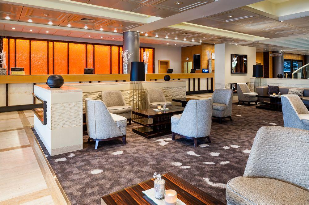 Marriott Hotel Wien Lobby