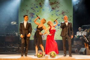 Abschluss der Musical and Wine Gala