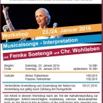Musical-Workshop mit Femke Soetenga
