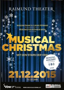 Musical Christmas Plakat