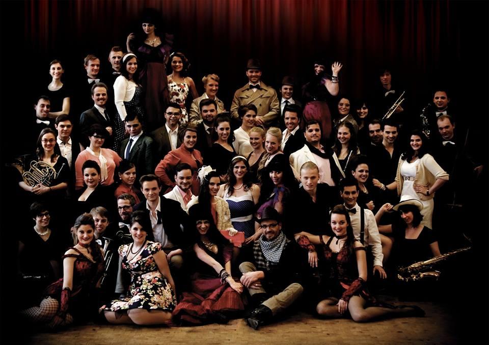Das Musical Inc Ensemble von Curtains