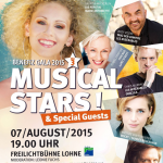 Musical Stars in Lohne: Benefizkonzert am 7. August