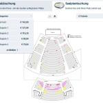 Musical Tickets Saalplanbuchung