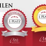 Musicalwahlen Treppchen