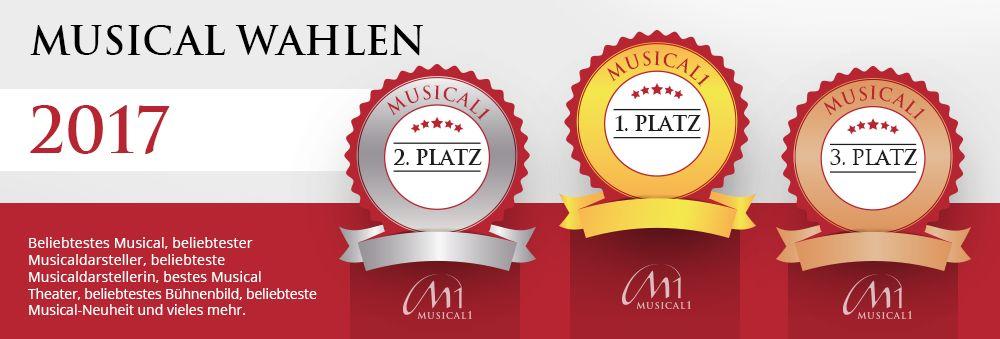 Musicalwahlen Gewinner