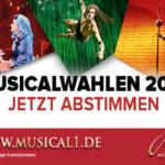 Die Musical1 Musicalwahlen 2017: Bestimmen Sie Ihre Favoriten