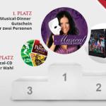 Musical1 geht online + Gewinnspiel