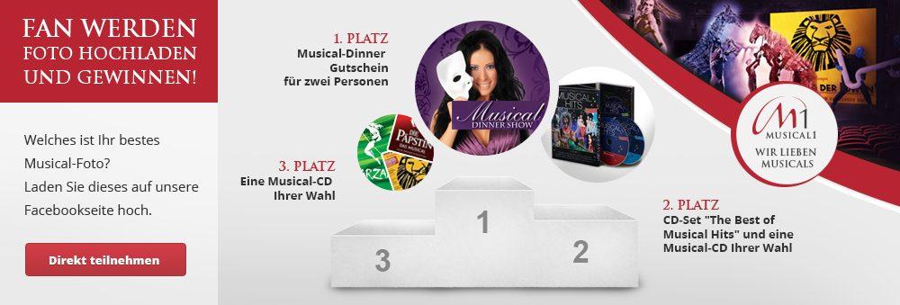 Musical1 Gewinnspiel zum Start