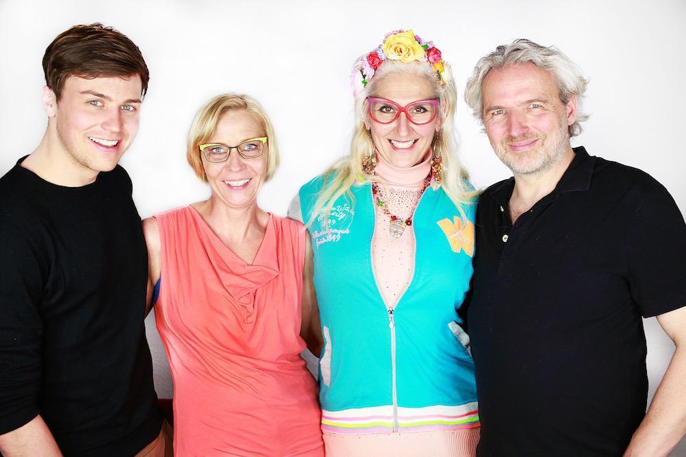 Christian Miebach, Anja Jochem, Christine und Stephan Kostropetsch