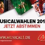 Die Musicalwahlen 2016 bei Musical1 starten