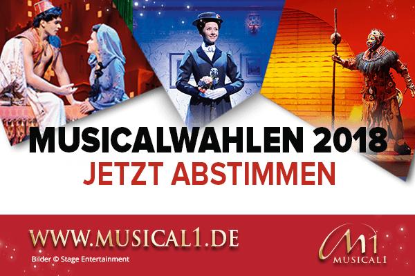 Musicalwahlen 2018 Banner