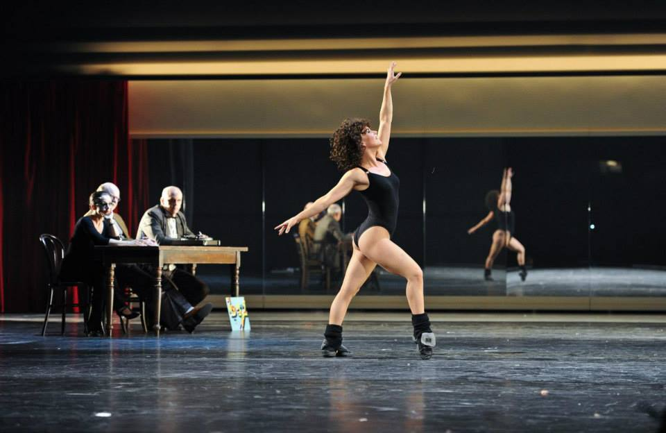 FLASHDANCE - Nadja Scheiwiller als Alex Owens bei Shipley-Audition