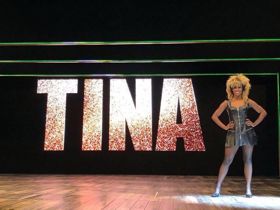 Nyassa Alberta als Tina Turner
