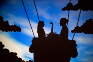 Pilobolus Shadowland 2, photographed by Beowulf Sheehan