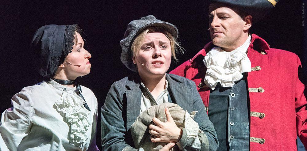 Oliver Twist Szene