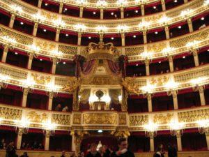 Teatro di San Carlo in Napoli