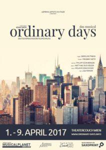 Ordinary Days Plakat