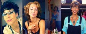 Patricia Hodell in ihren Mamma Mia!-Rollen