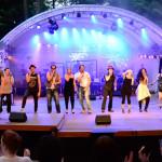 Bühnenfoto der Pfingstgala Tecklenburg 2014