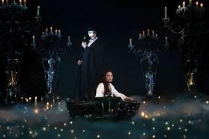 Das Phantom der Oper und Christine in den Katakomben