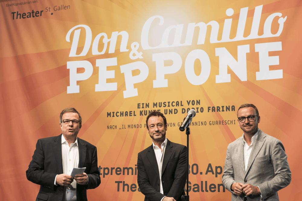 Pressekonferenz Don Camillo & Peppone