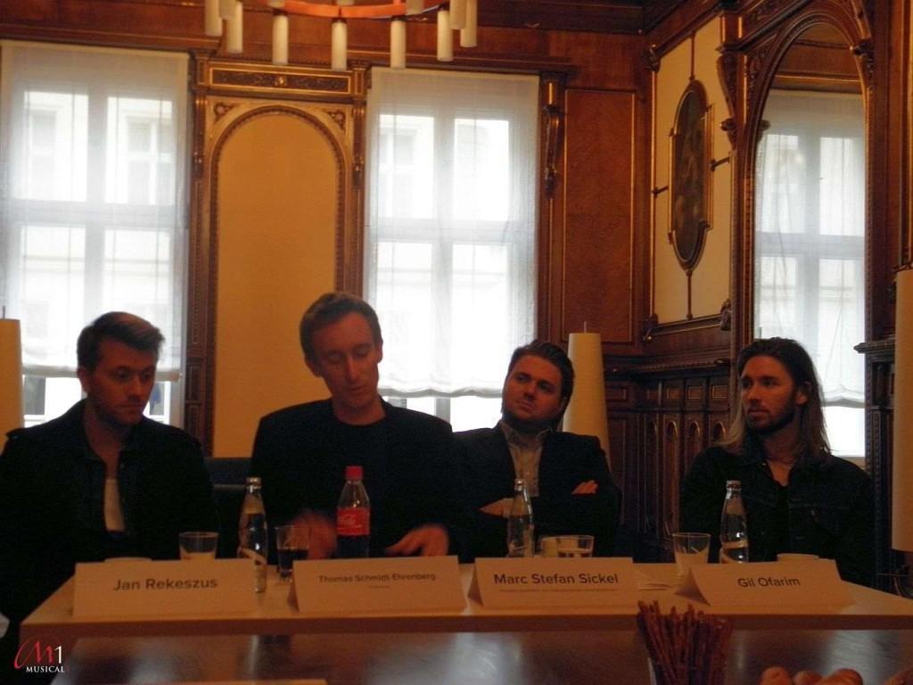 Pressekonferenz zu Hair in Magdeburg