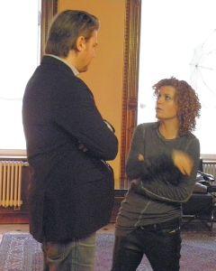 Lucy Diakovska und Marc Stefan Sickel