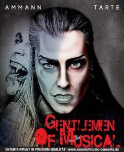 Plakat Gentlemen of Musical