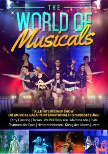 Plakat THE WORLD OF MUSICALS