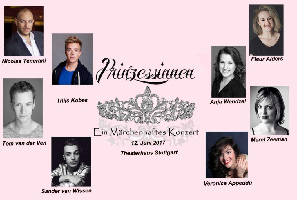 Plakat Prinzessinnen Konzert All Stars