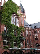 Innenhof Rathaus Köpenick