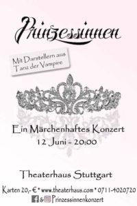 Konzertplakat Prinzessinnen