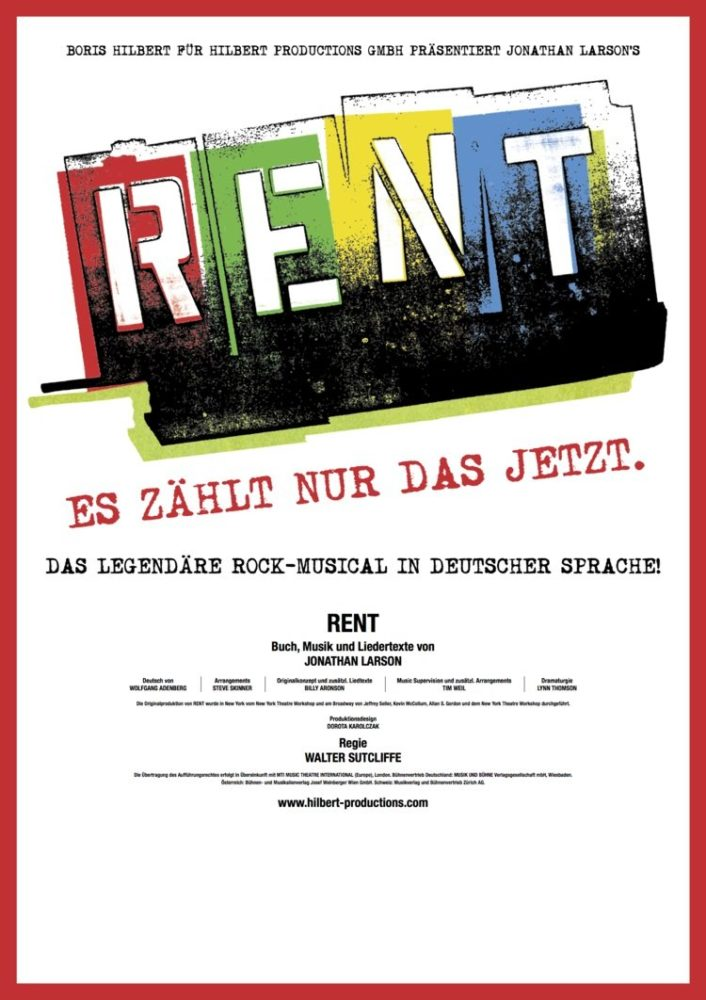 Plakat RENT 2017