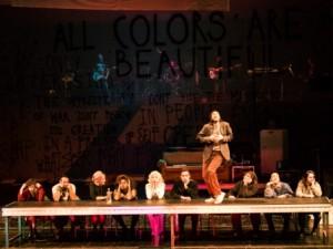Szene aus Rent am Theater Trier