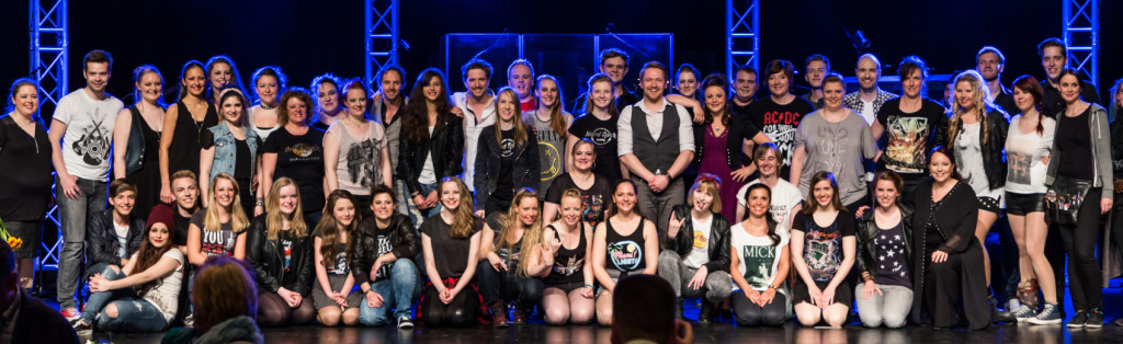 Ensemble der ROCK MEETS MUSICAL Gala
