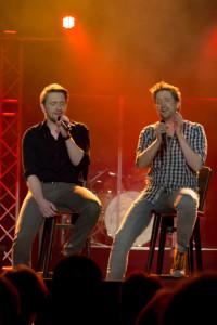 Florian Hinxlage und Sascha Kurth