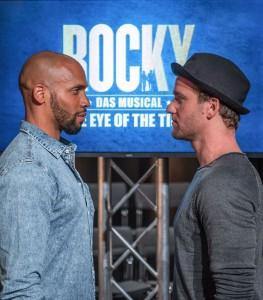 Rocky Gino Emnes und Nikolas Heiber