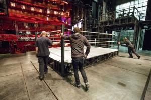 Rocky - Bühnenarbeiten