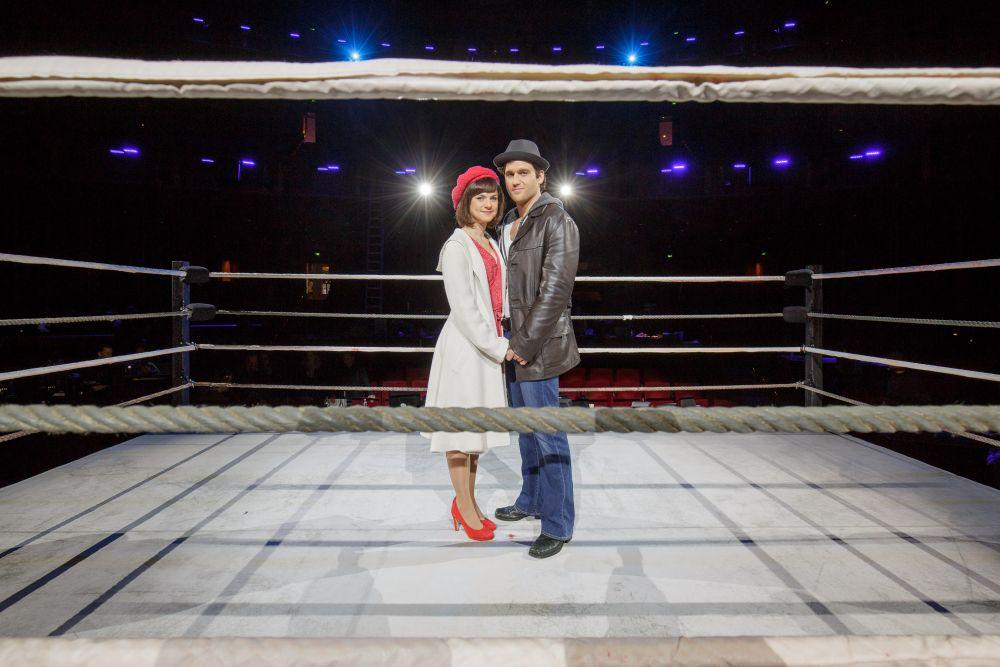 Rocky Hauptdarsteller im Ring
