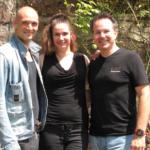 Drew Sarich und Ann Mandrella proben für JEKYLL & HYDE