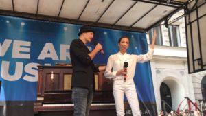 Drew Sarich und Marjan Shaki am Musicalfest 2016